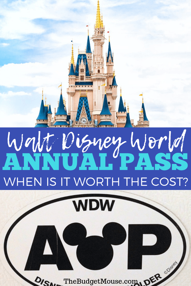 When to buy a Disney World Annual Pass! How to decide if an AP is right for you at Walt Disney World. #disneyworldap #disneyannualpass #disneyworldtipsandtricks #disneyworldpassbenefits #disneyAP