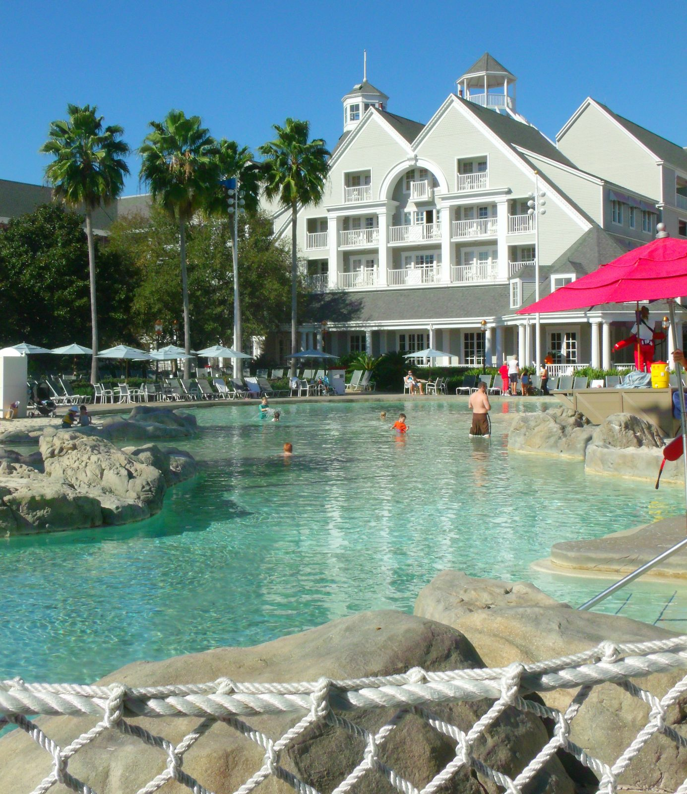 disney beach club pool and resort