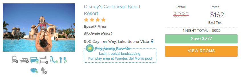 Screenshot of Undercover Tourist Website with pricing