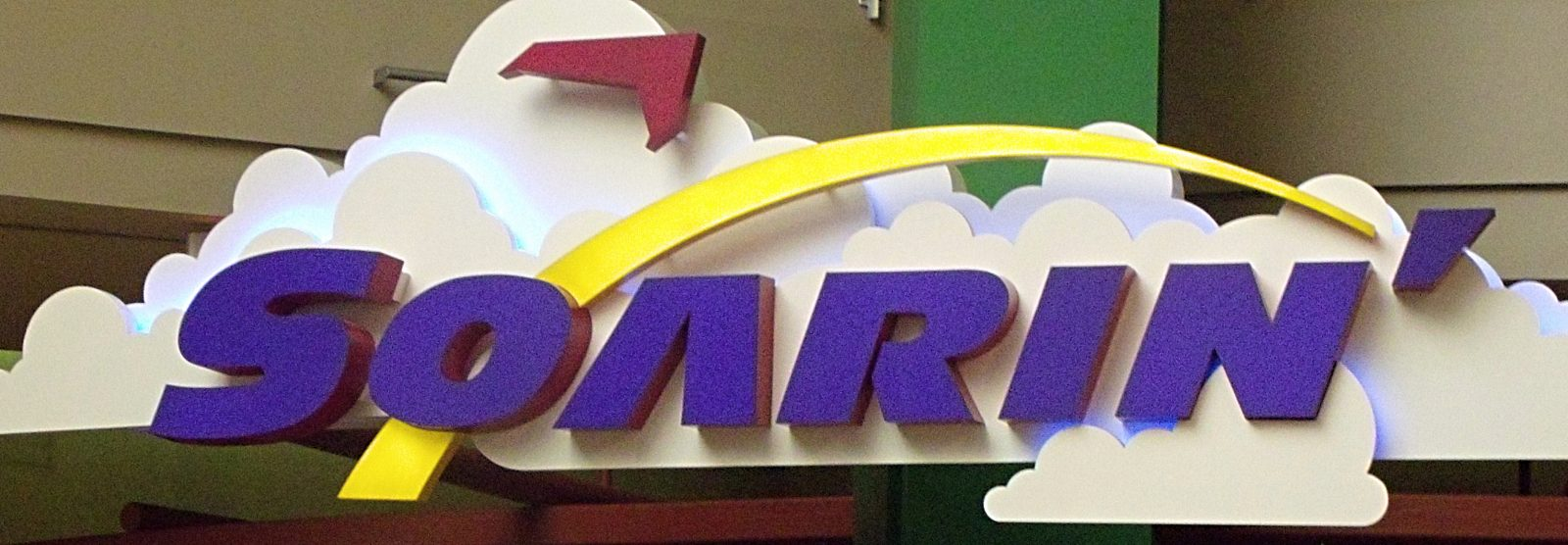 soarin ride sign