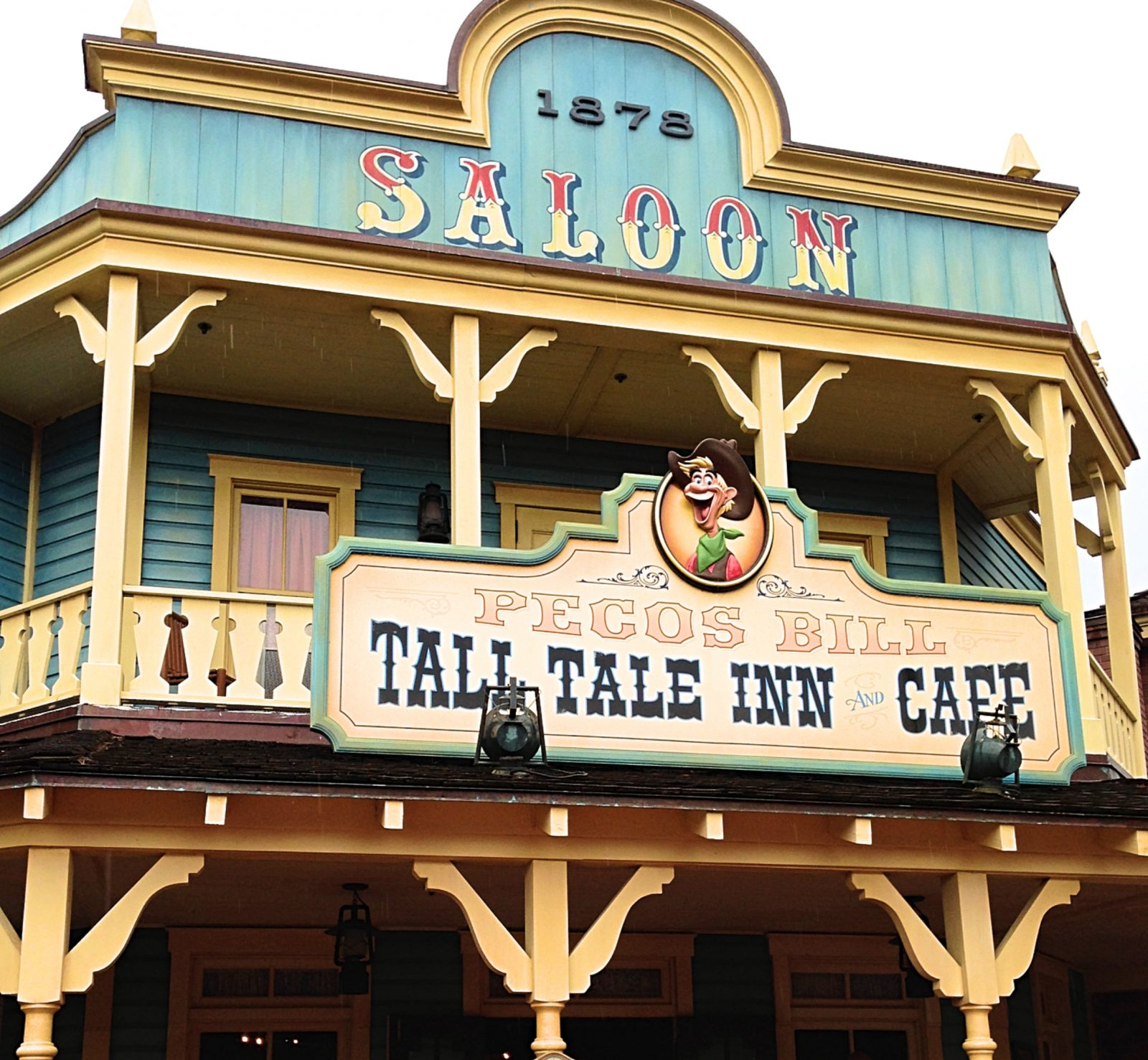 entrance to Pecos Bill - best magic kingdom quick service