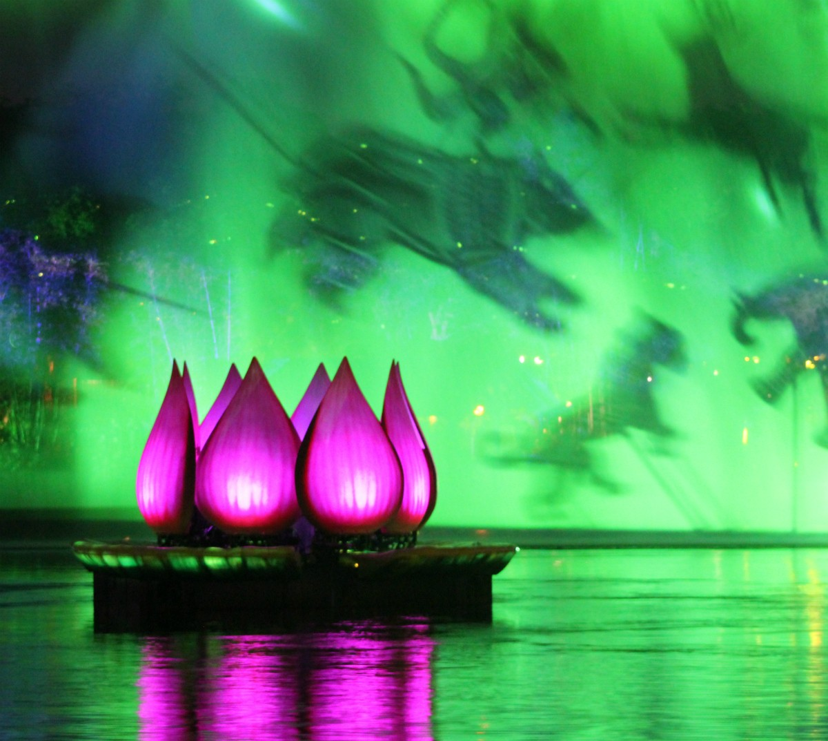 Rivers of Light night show at Disney's Animal Kingdom