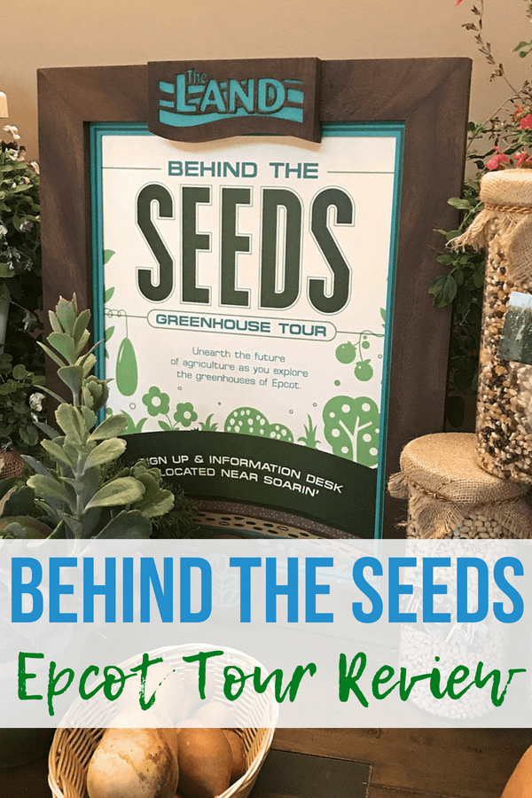 A review of the Behind the Seeds tour in Epcot's Land pavilion! Go behind the scenes in the Living with the Land attraction in this backstage tour at Walt Disney World. #disneyworld