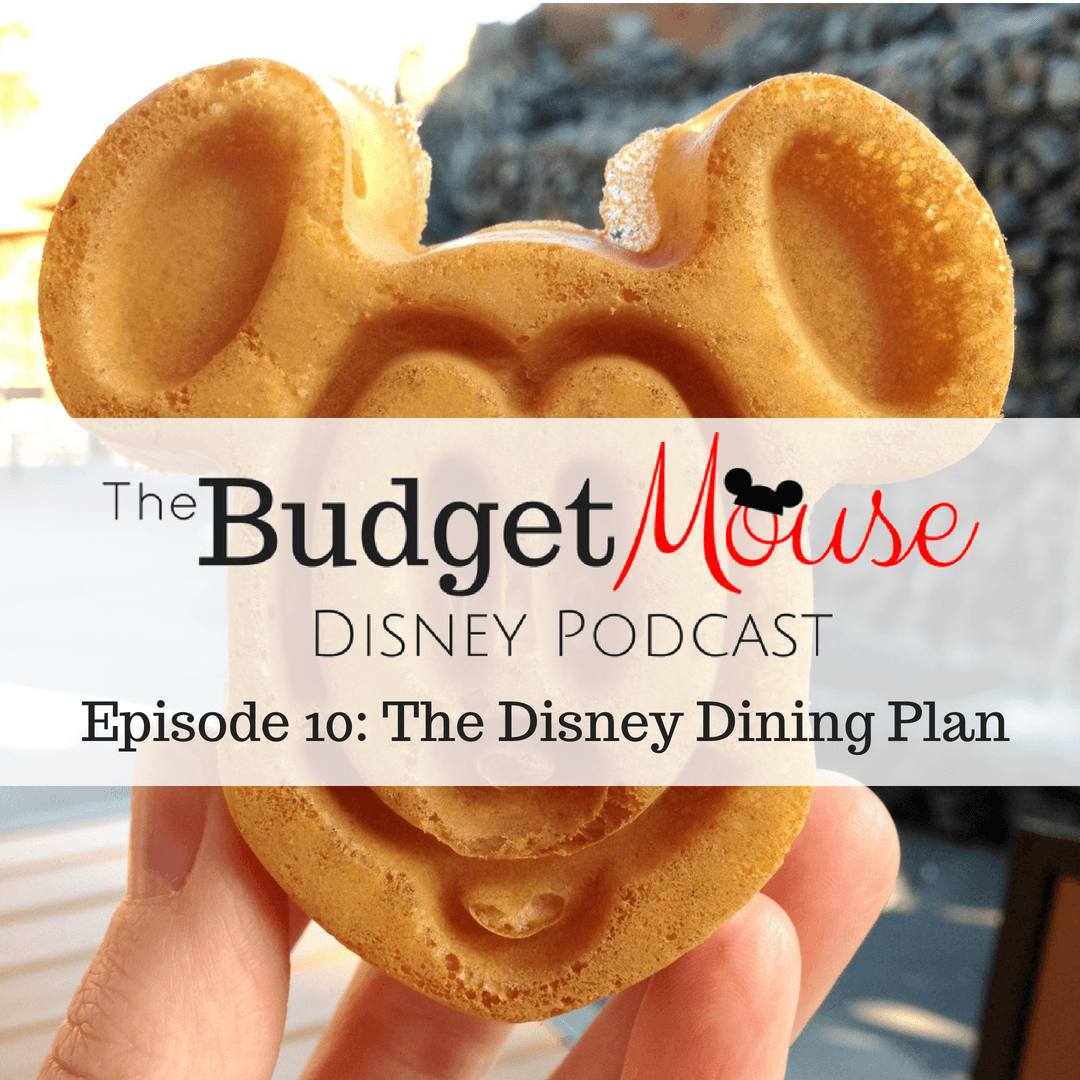 budget mouse podcast image of mickey waffle
