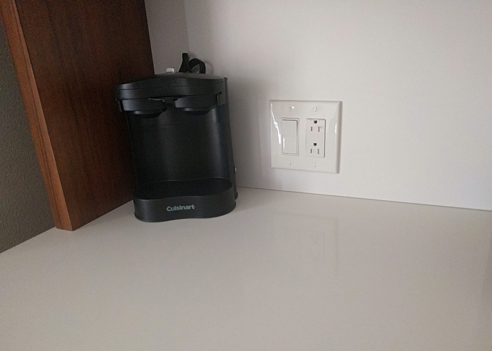 coffee maker provided in the room