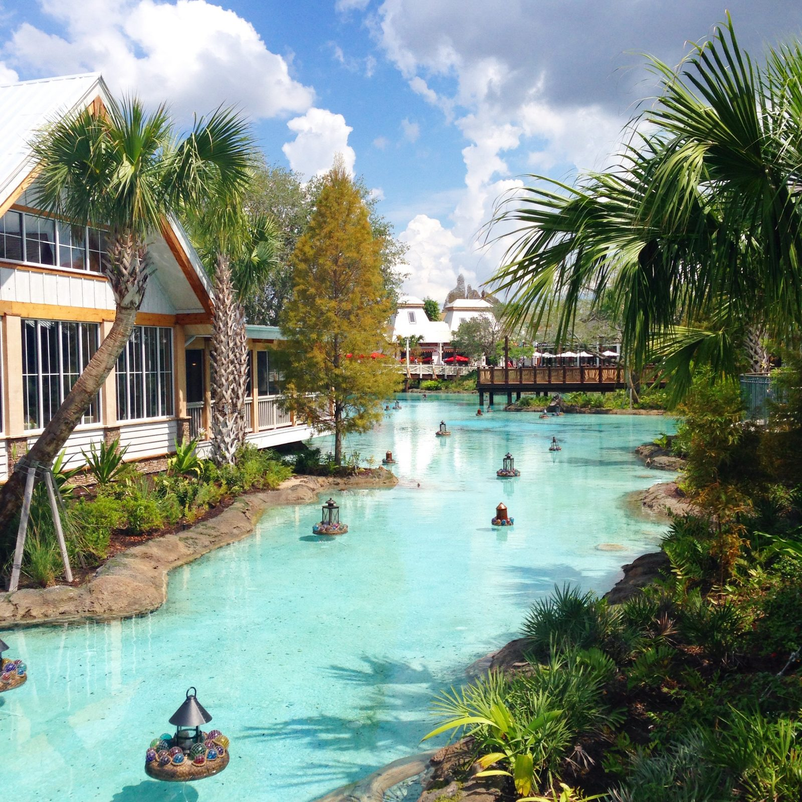 disney springs water way