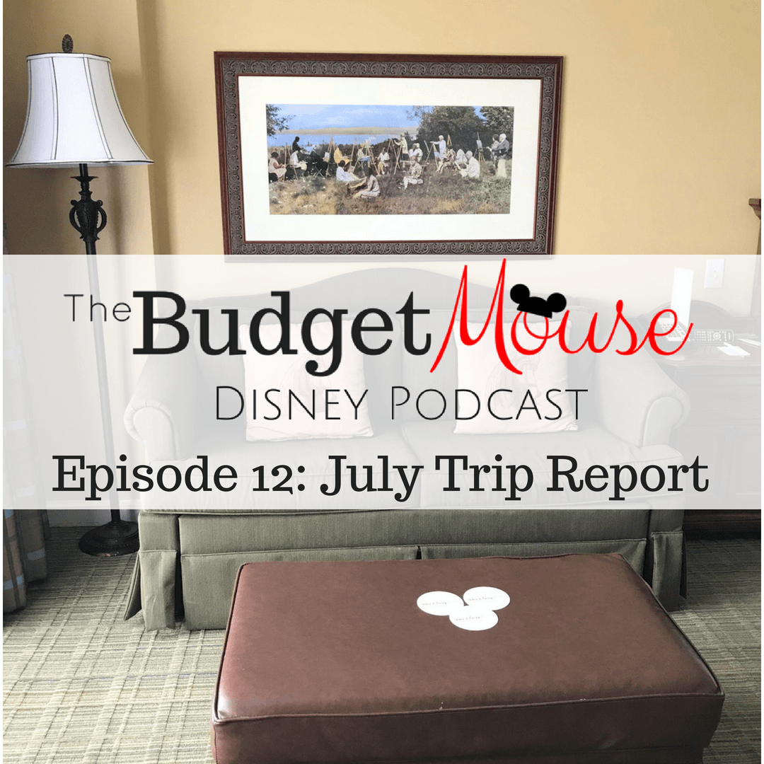 budget mouse podcast image with sitting area in disney resort room