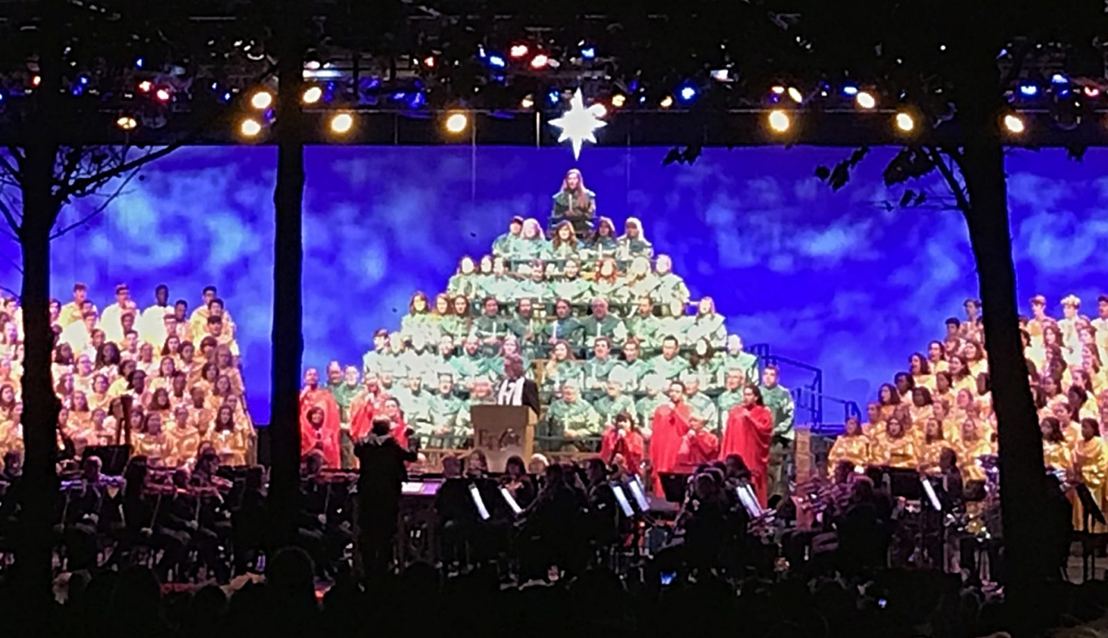 candlelight processional performance