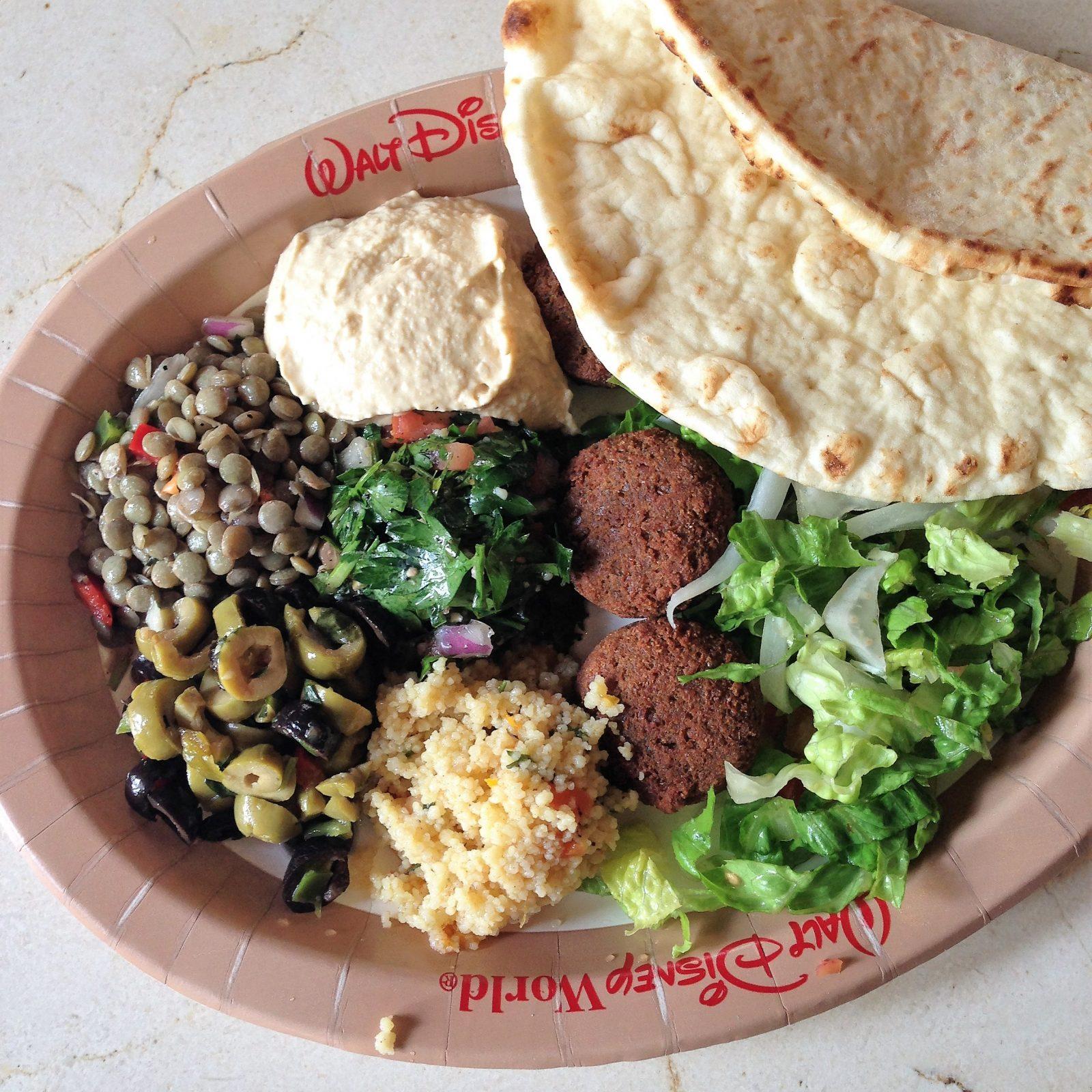 Tangierine Cafe Vegetable Platter