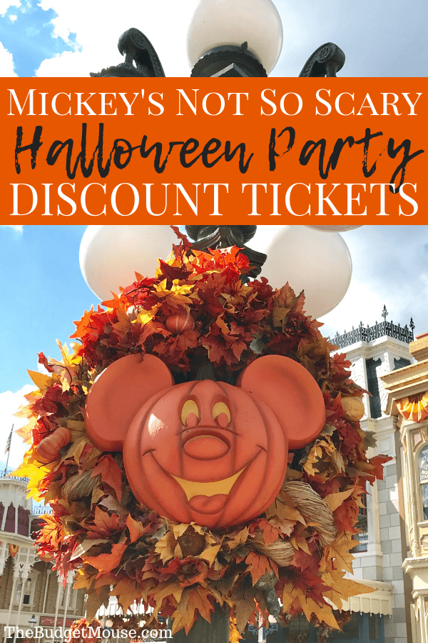 All about Mickey's Not So Scary Halloween Party at Walt Disney World! How to get discount tickets, highlights from the party, and tips and tricks for having the best possible experience at the Magic Kingdom Halloween party. How to do Disney World on a budget and planning advice. #disneyworld #halloween