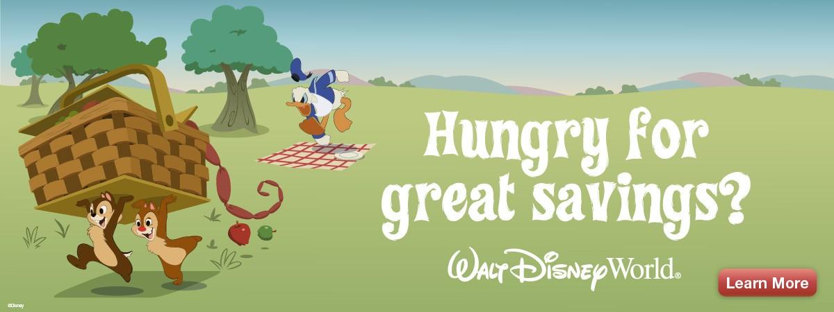 disney themed ad for savings