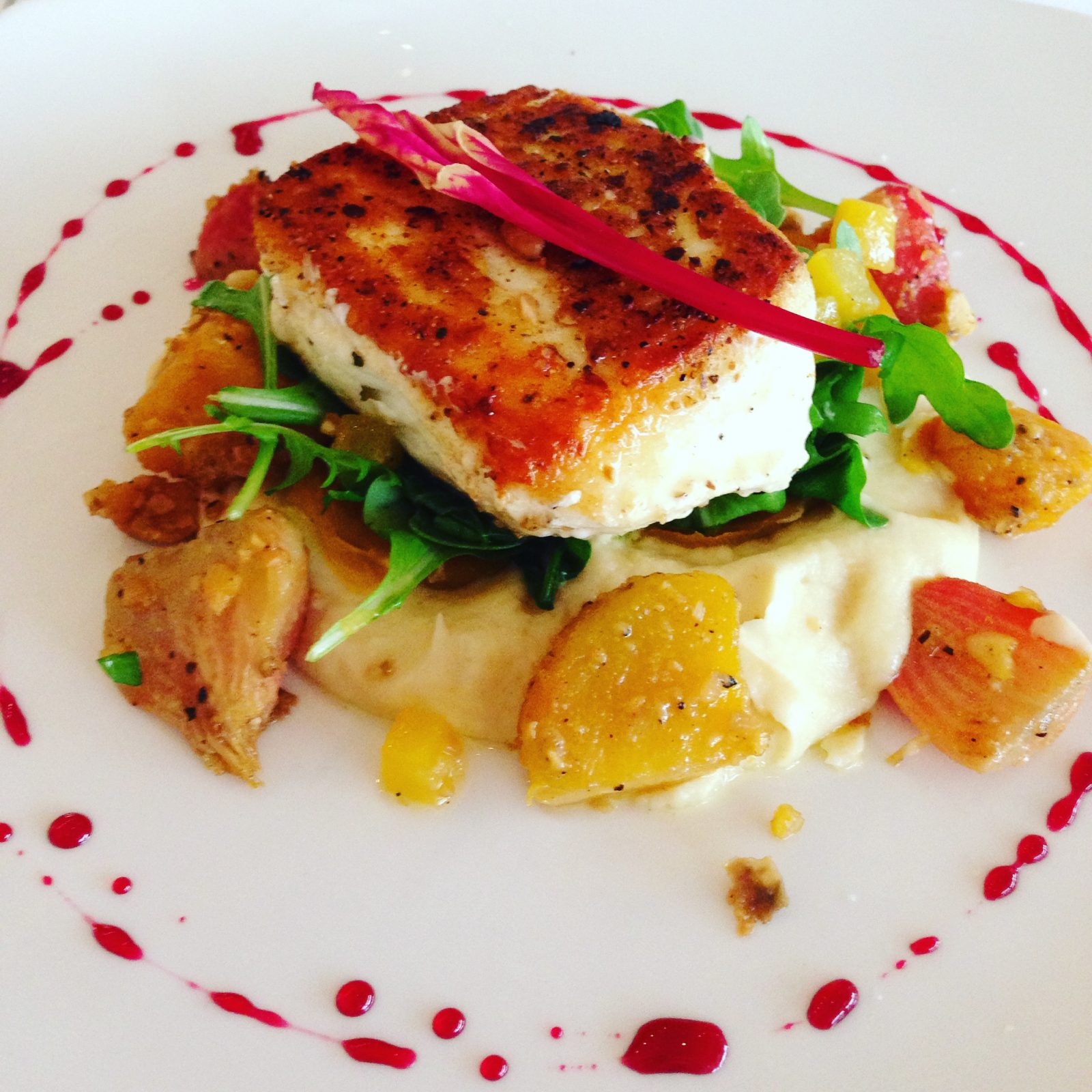 gourmet food from california grill at disney's contemporary resort