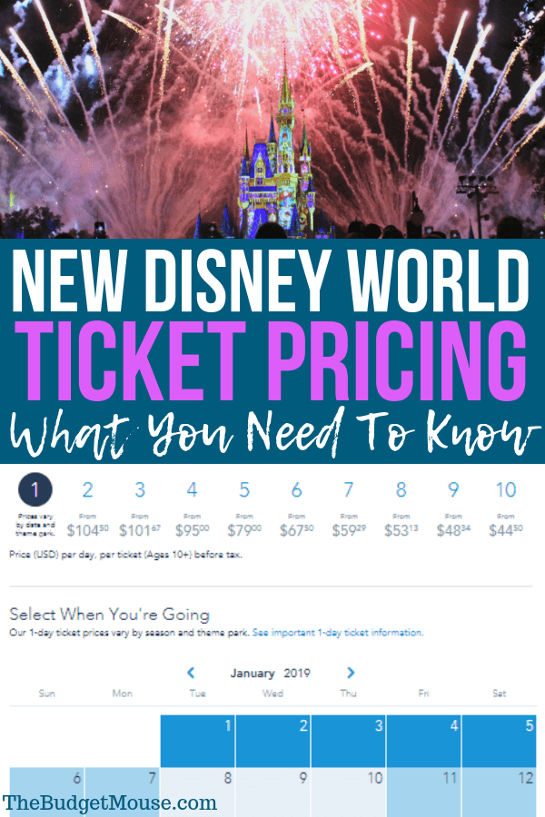 New Disney World Date-Based Tickets Explained: How To Find