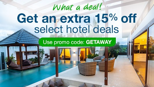 image of orbitz ad for hotel discount with promocode