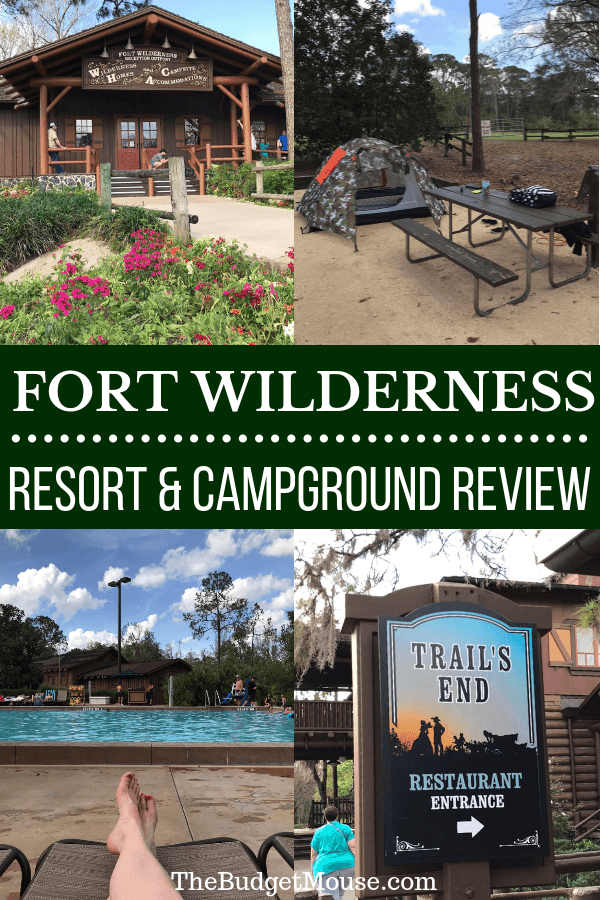 Everything you need to know about camping at Fort Wilderness at Disney World! The best loops for tent camping, how to rent an RV, pools, transportation, dining, recreation, and more Disney World tips and tricks! #disneyworld #traveltips