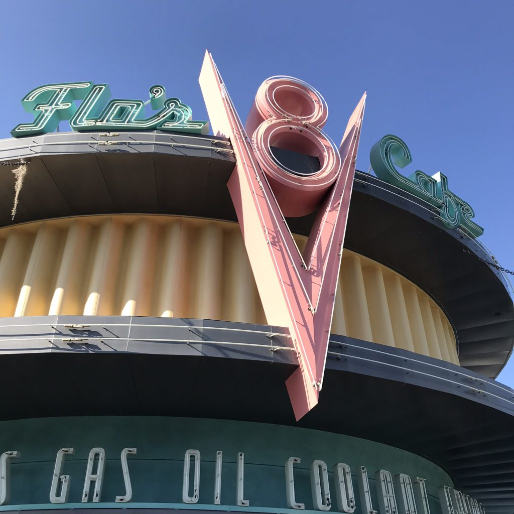 Flo's in Cars Land
