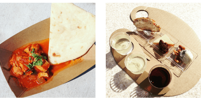 snacks at FOod & Wine - epcot festivals guide