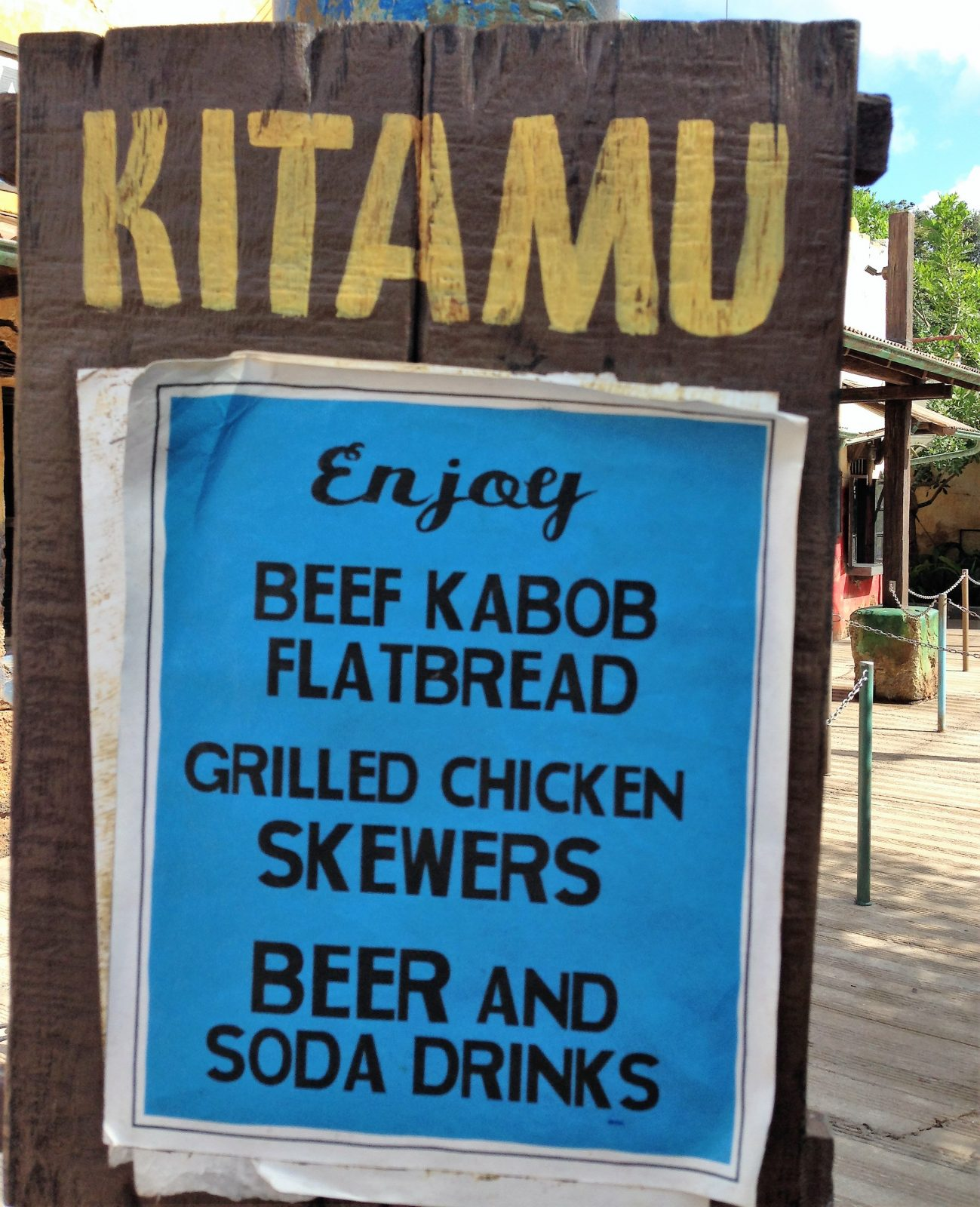 menu offerings harambe market