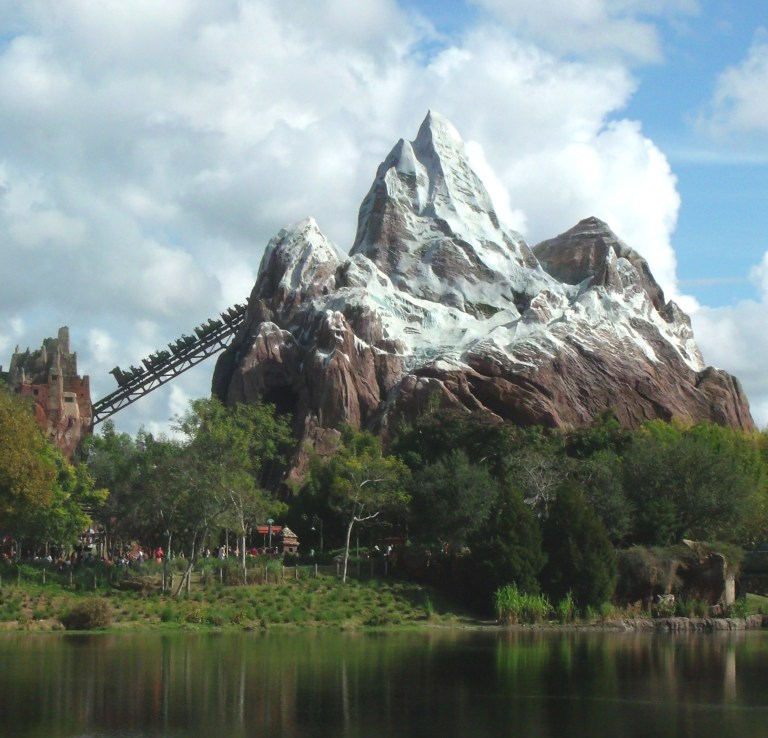 expedition everest view from flame tree barbacue