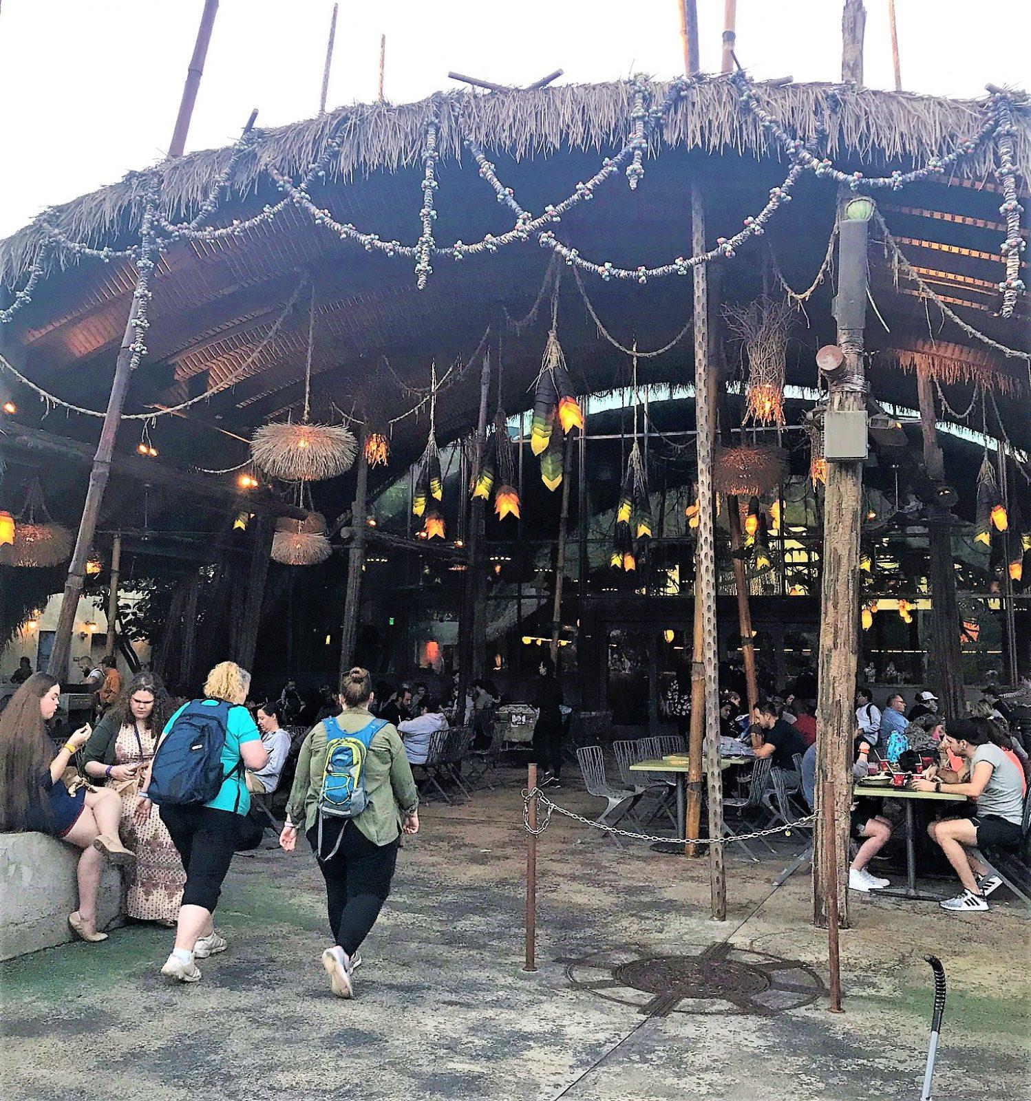 exterior of satuli canteen