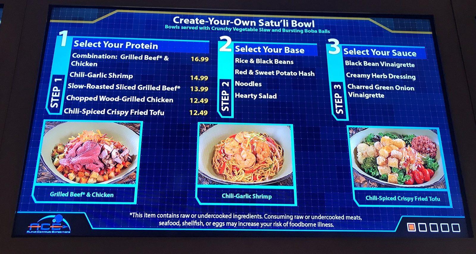 satuli canteen menu