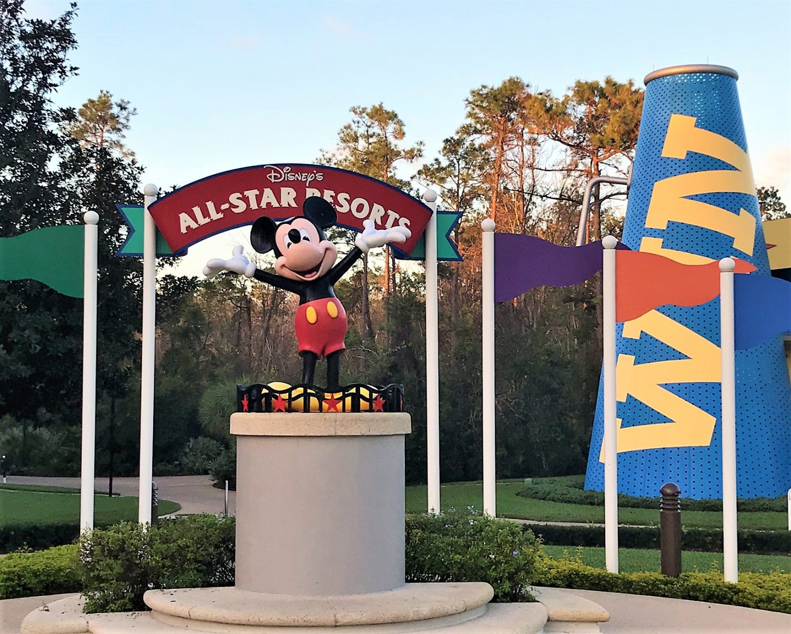 hack for staying at Disney's all-star sports on the cheap