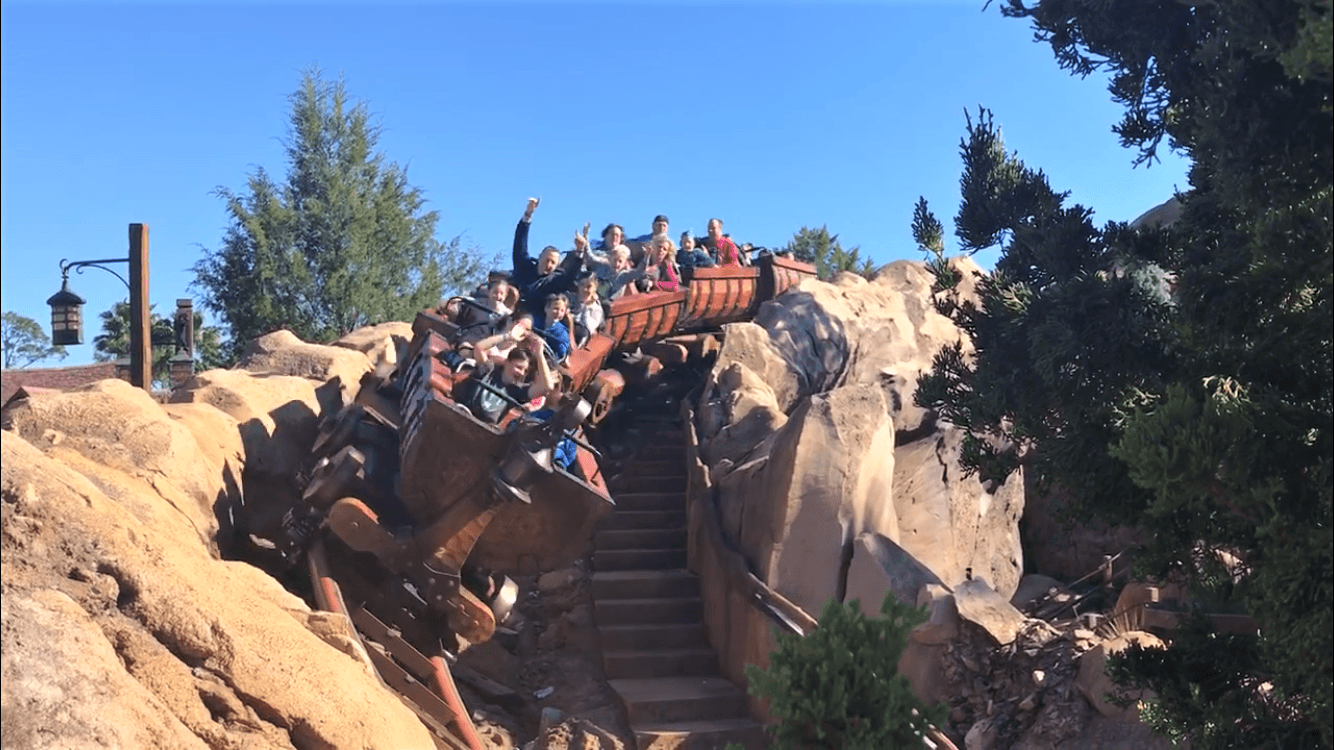 Seven Dwarves Mine Train