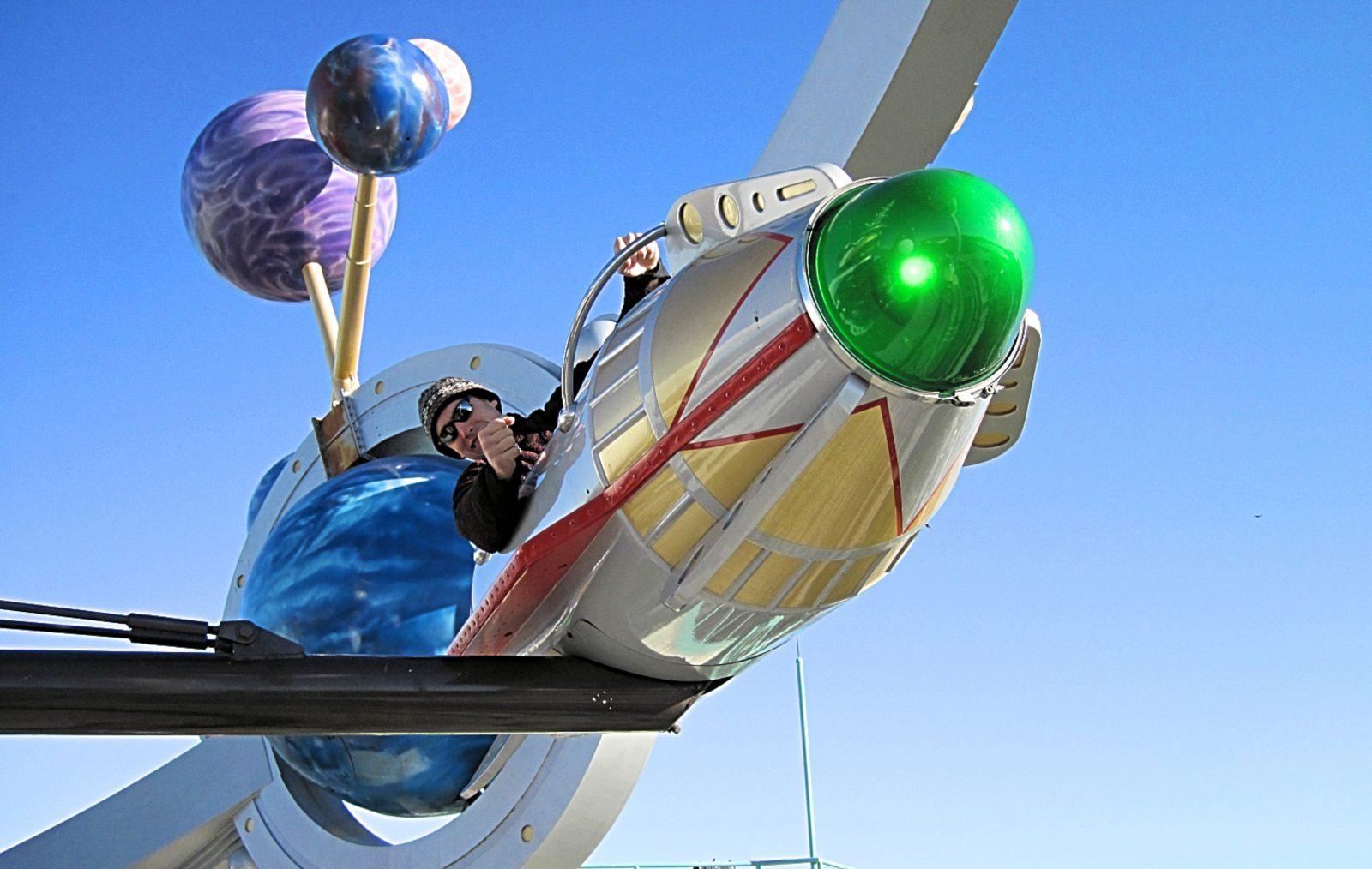 Astro Orbiter spaceship at Magic Kingdom