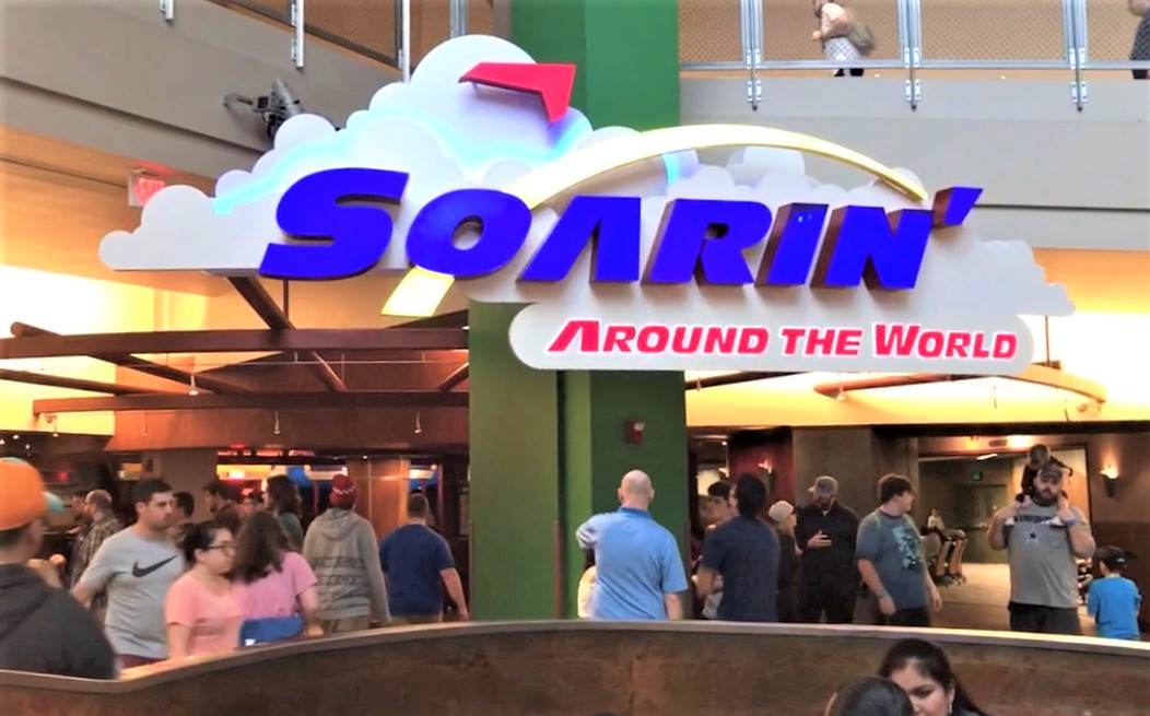 soarin around the world sign in epcot