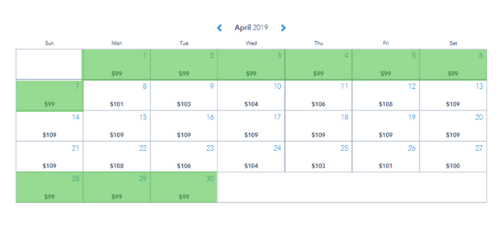 chart of Disney ticket prices - book your Disney World packages 2020 now