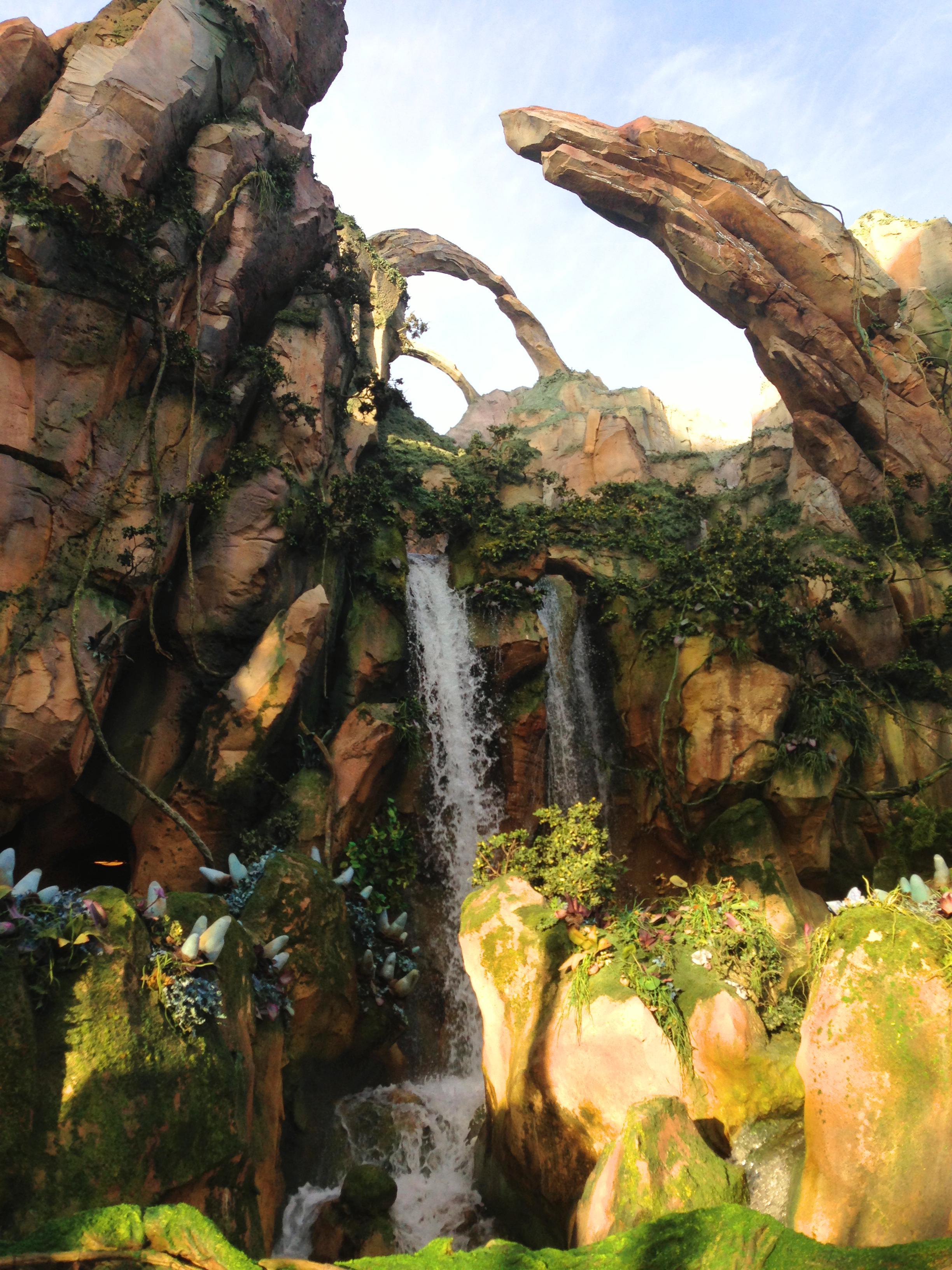waterfall in pandora world of avatar