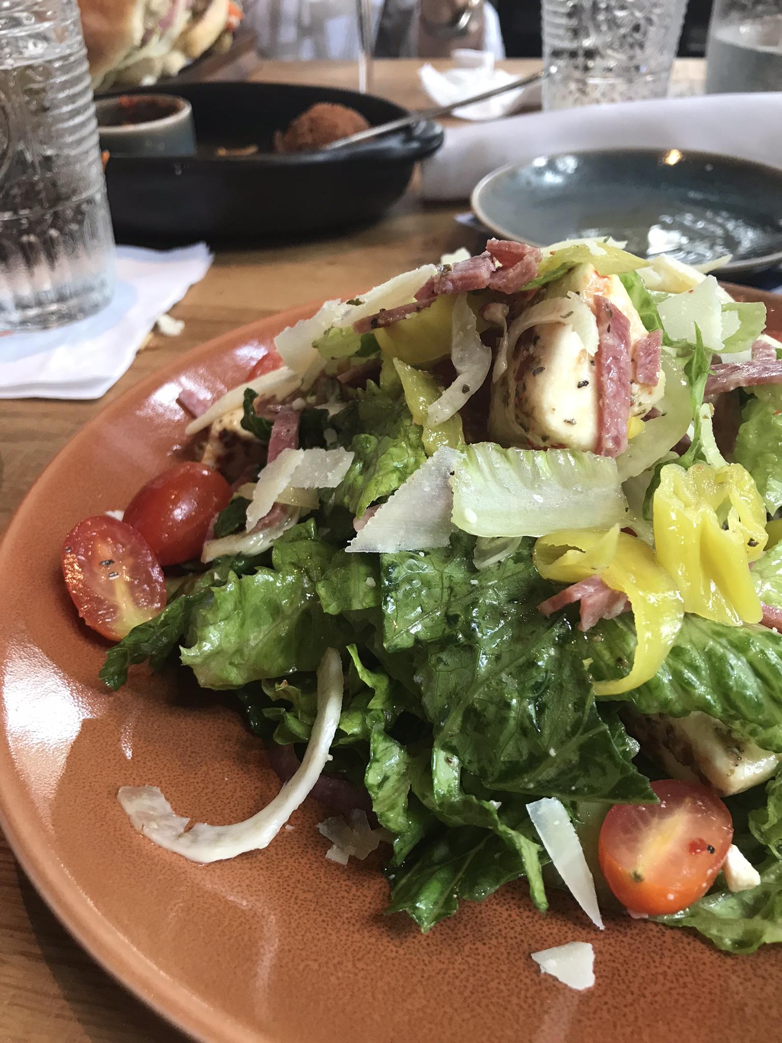 disney magical dining month salad at Terralina