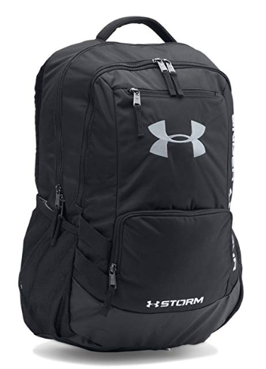 black under armour back pack