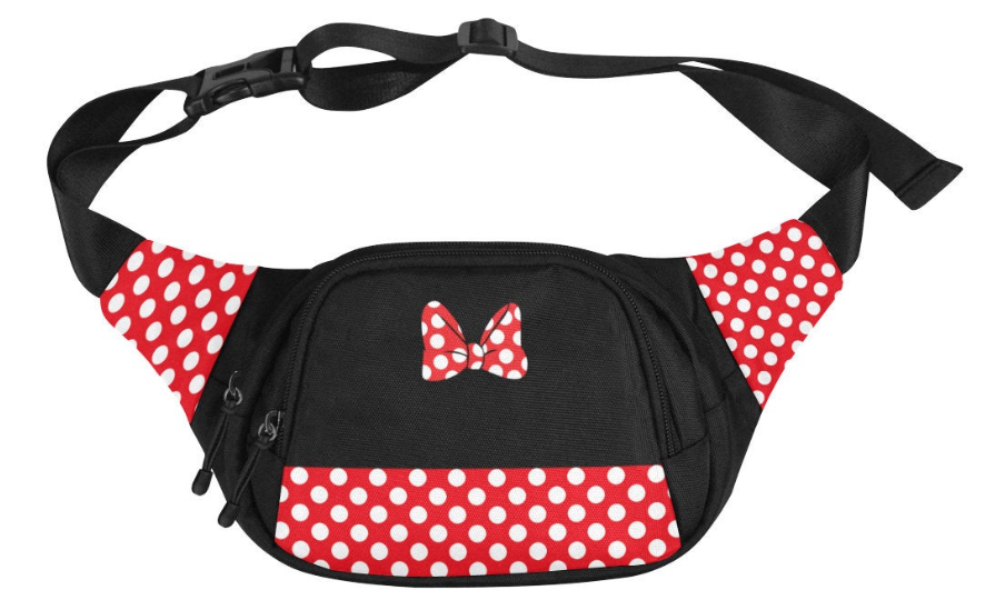 minnie mouse fanny pack