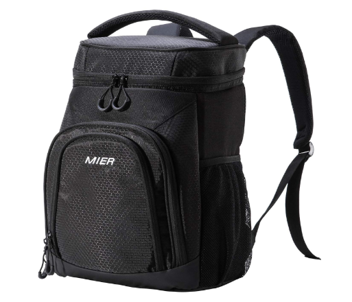 black cooler back pack
