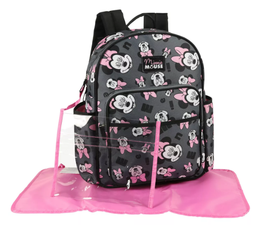 minnie mouse diaper bag back pack