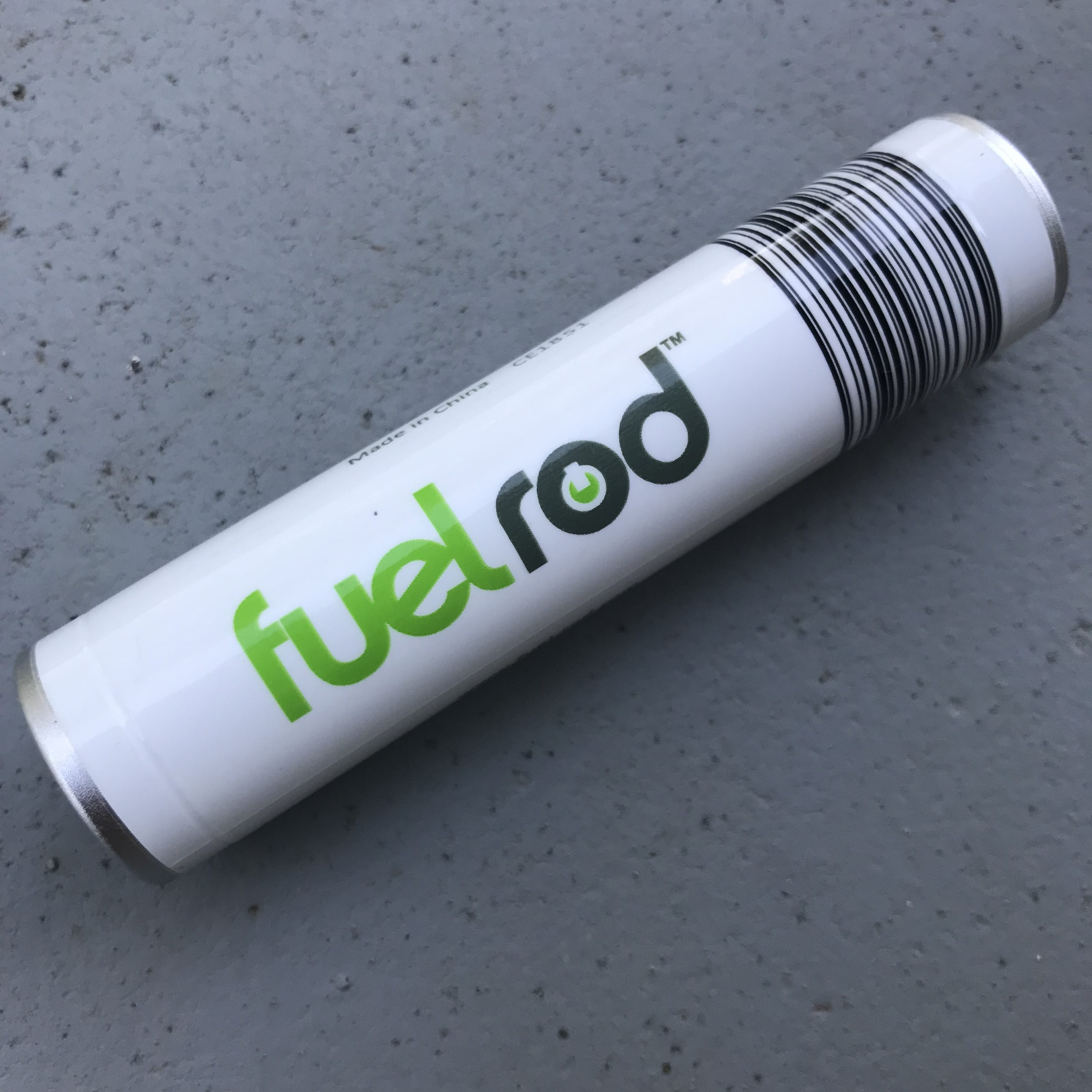 a FuelRod portable battery charger
