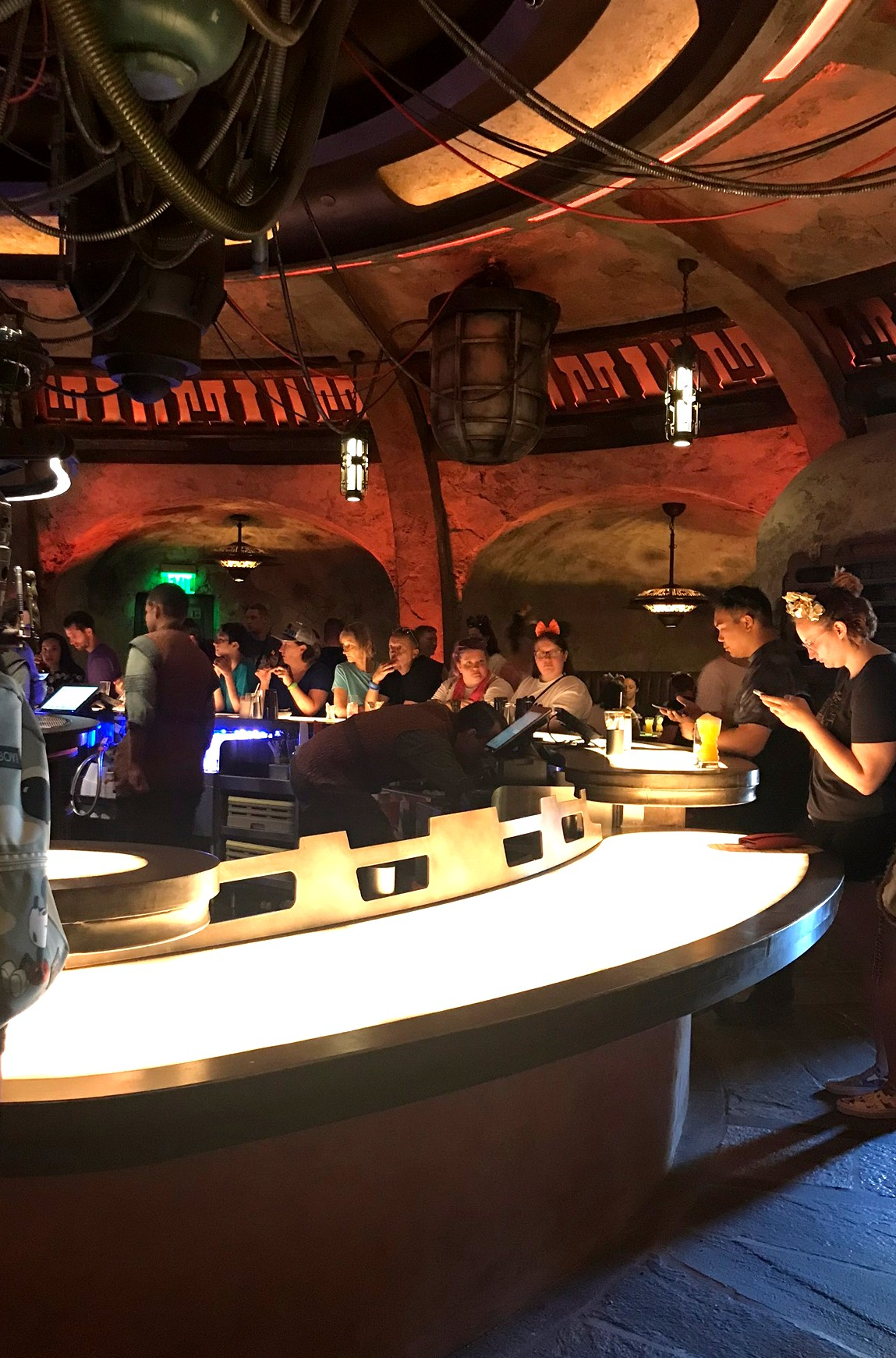 another view of oga's cantina bar