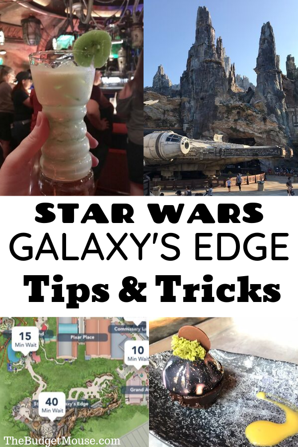 star wars galaxy's edge tips and tricks