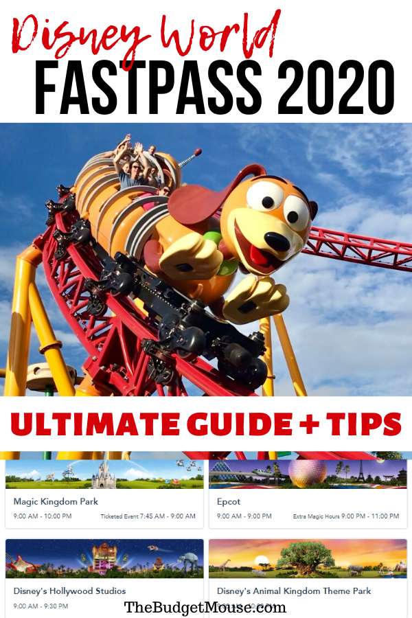 Disney Fast Pass 2020 Ultimate Guide + FREE Printable Cheat Sheet! Get the best FastPass tips for planning your Disney vacation. Disney planning tips and tricks for FastPass aka FastPass+ at Disney World. #disneyfastpass #disneyworldfastpass #fastpasstips