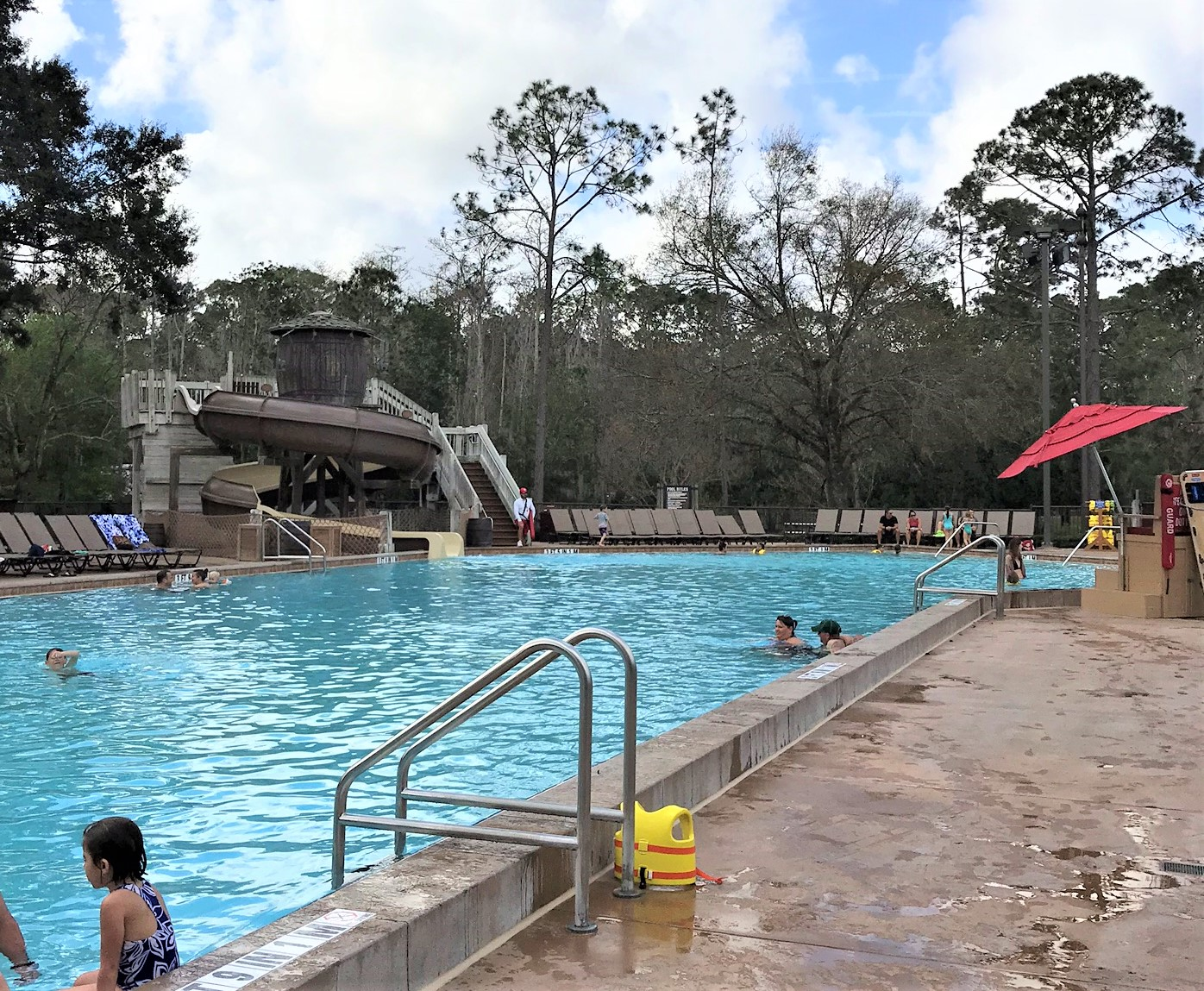 swimming pool at fort wilderness