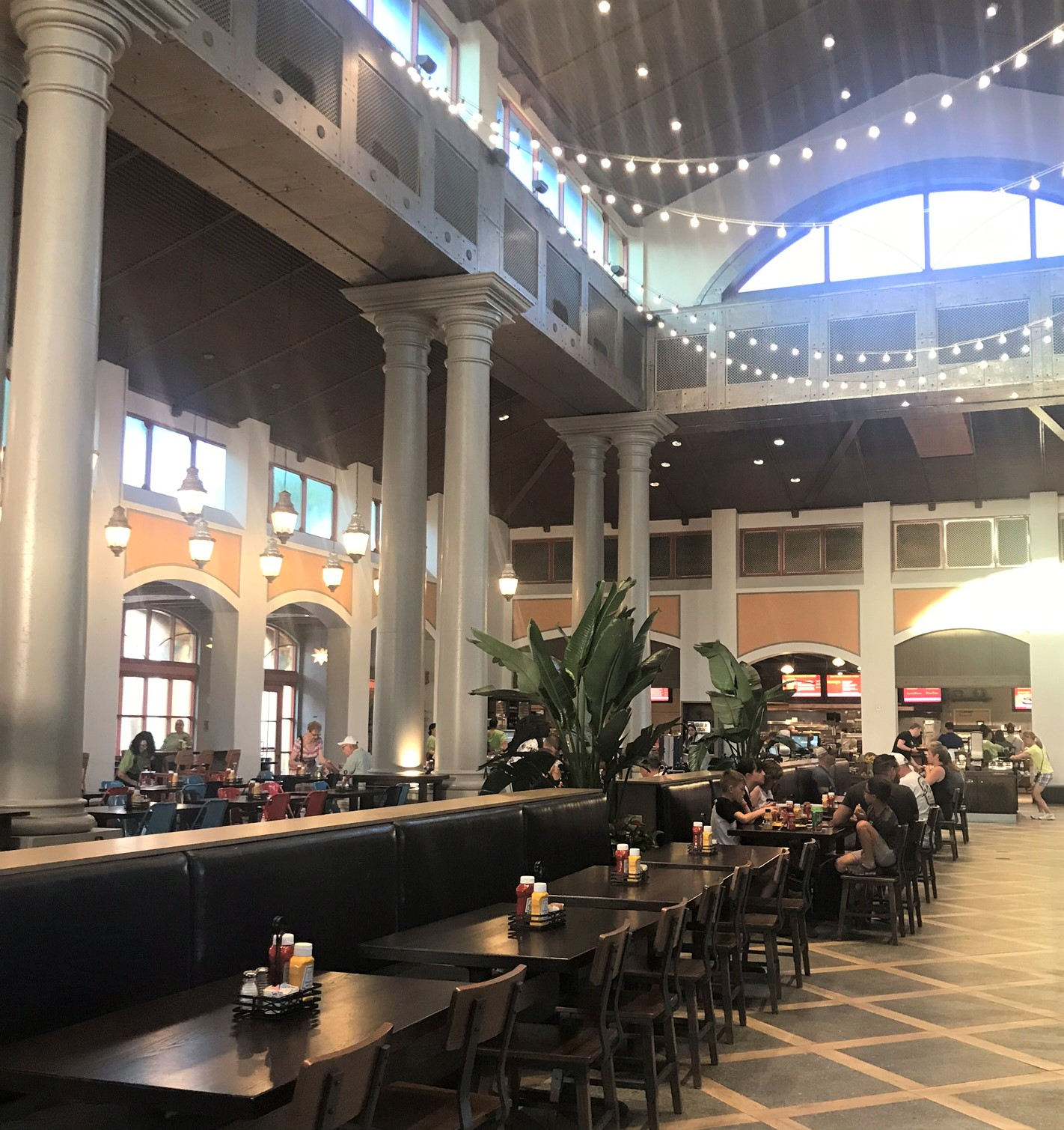 interior dining area at Coronado Springs
