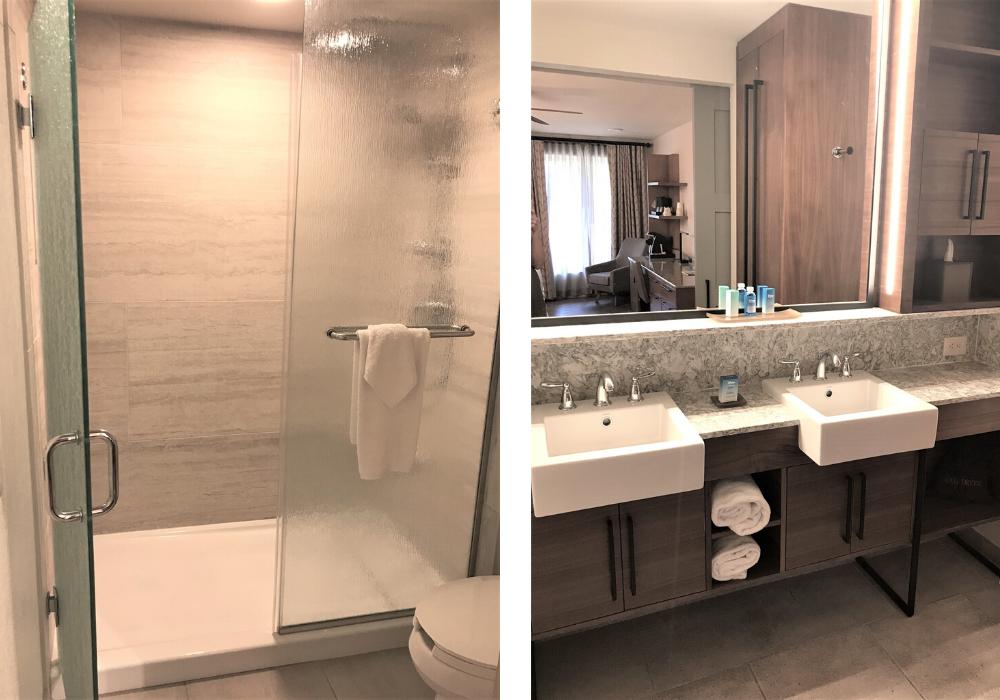 bathrooms in Coronado Springs room