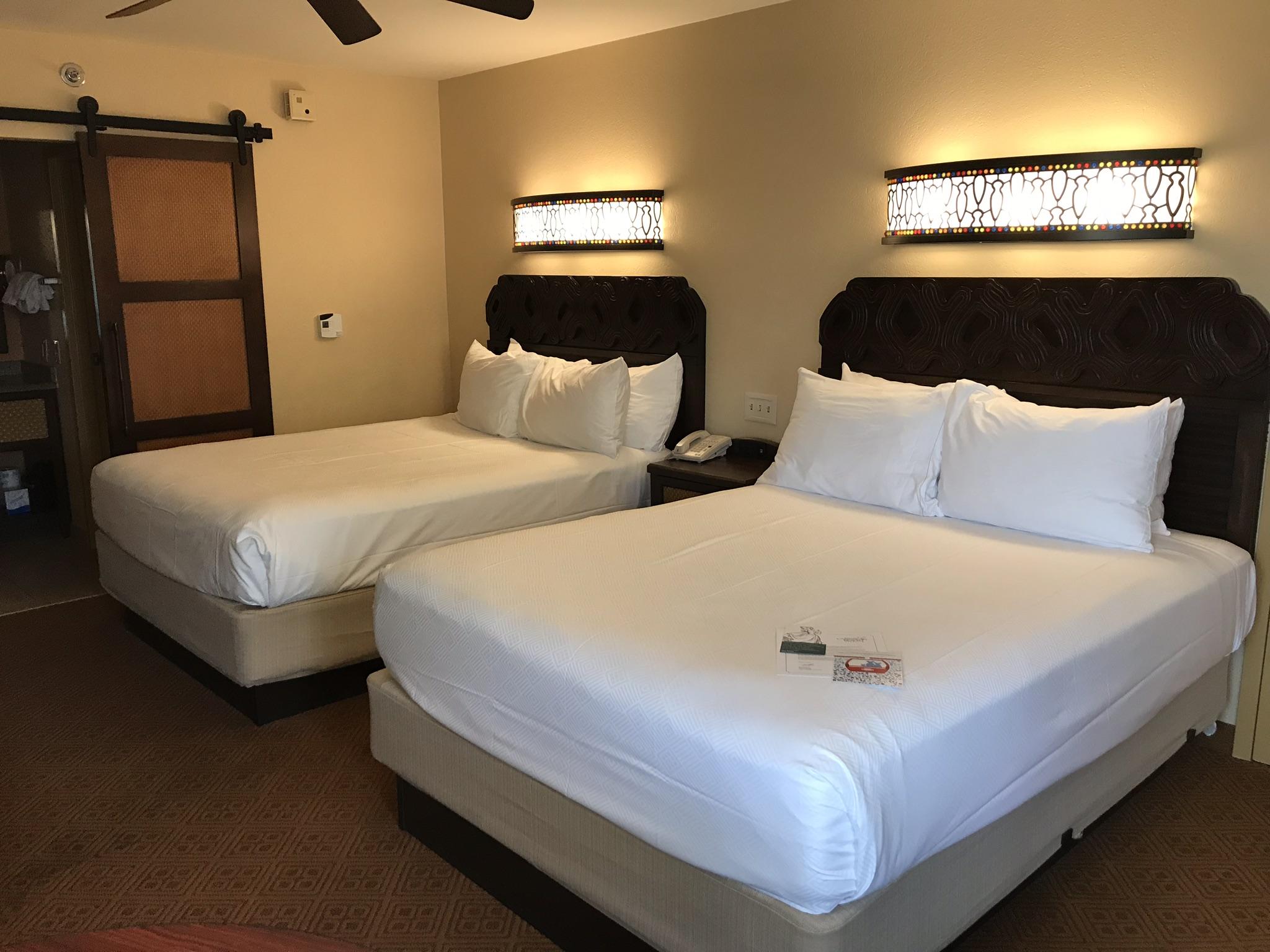 room at Caribbean beach resort