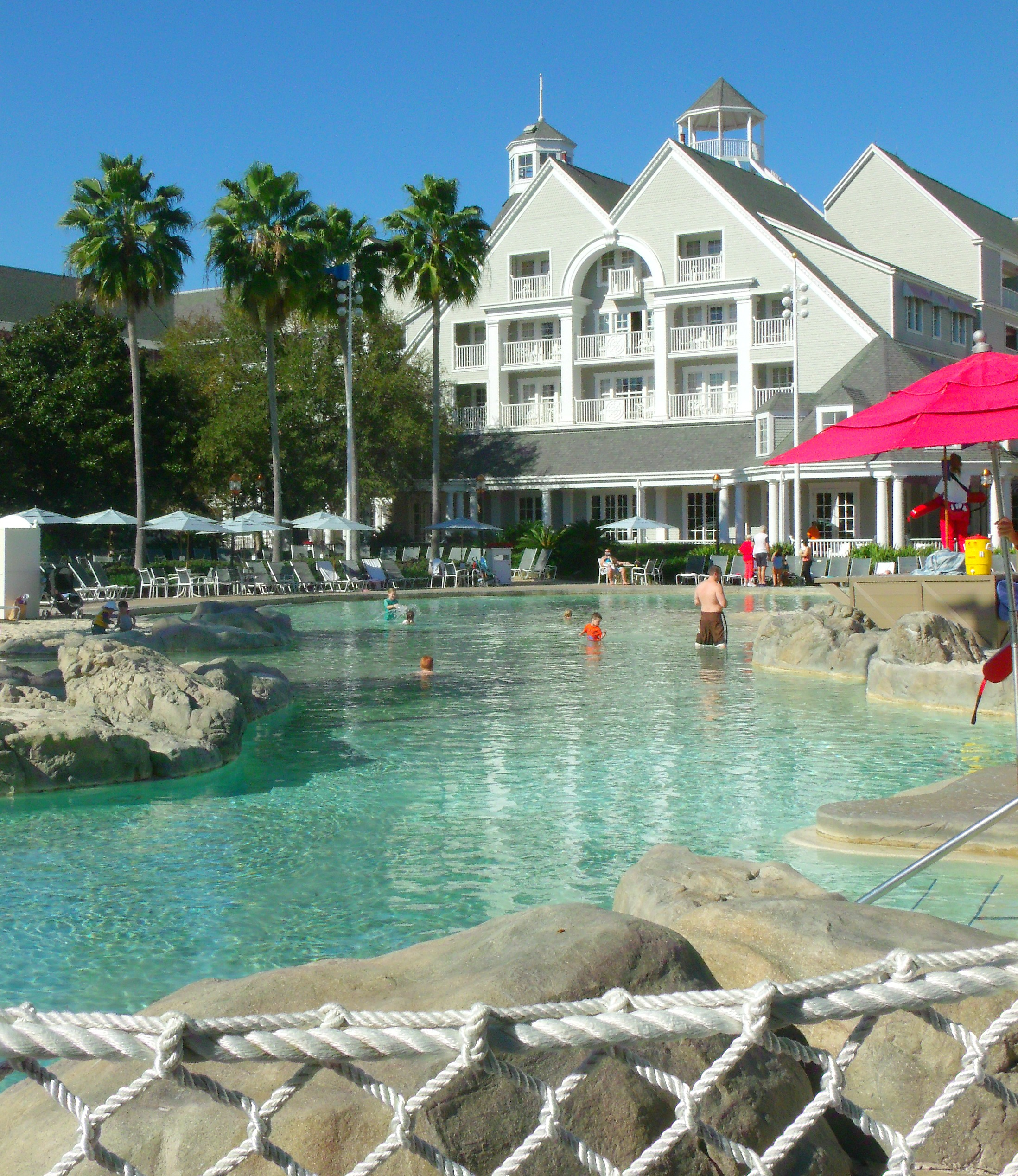 beach club pool area - disney world weather in april