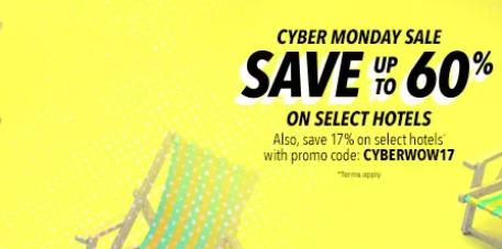 orbitz's cyber monday discount deal