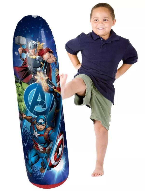 marvel avengers bop bag