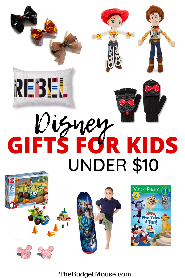 disney gifts for kids under $10 pinterst image
