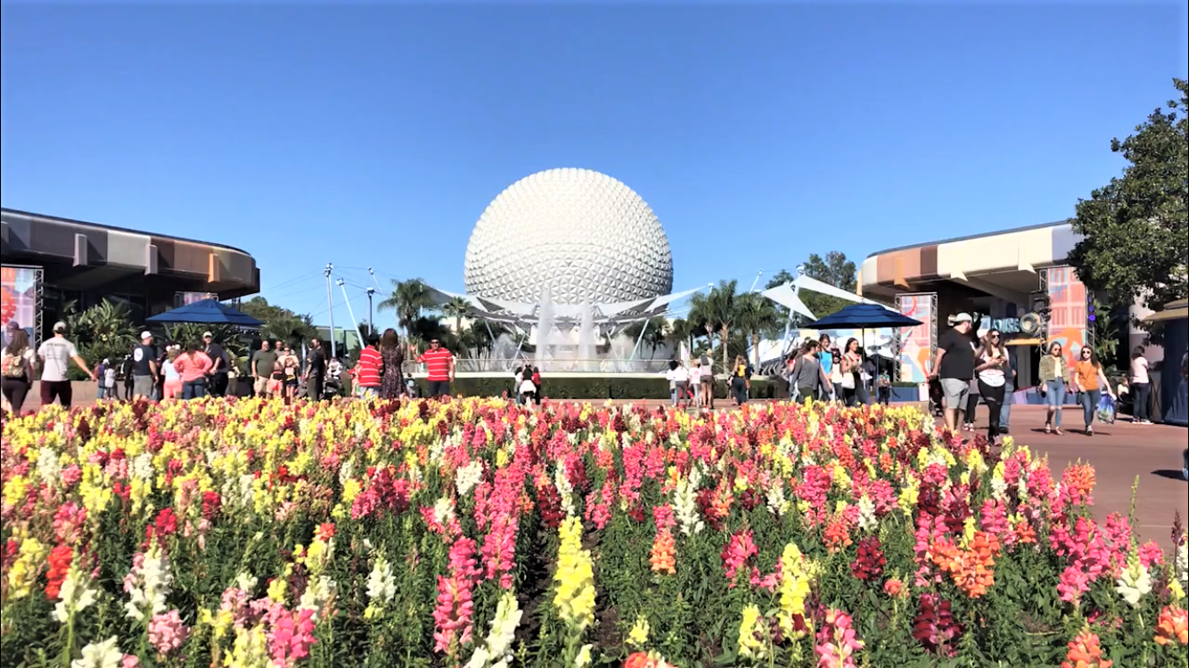 flowers in epcot