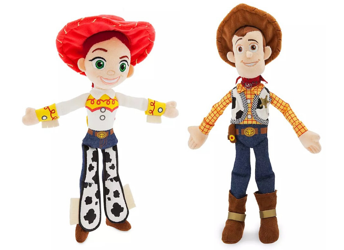 Jessie and Woody Plush Toys